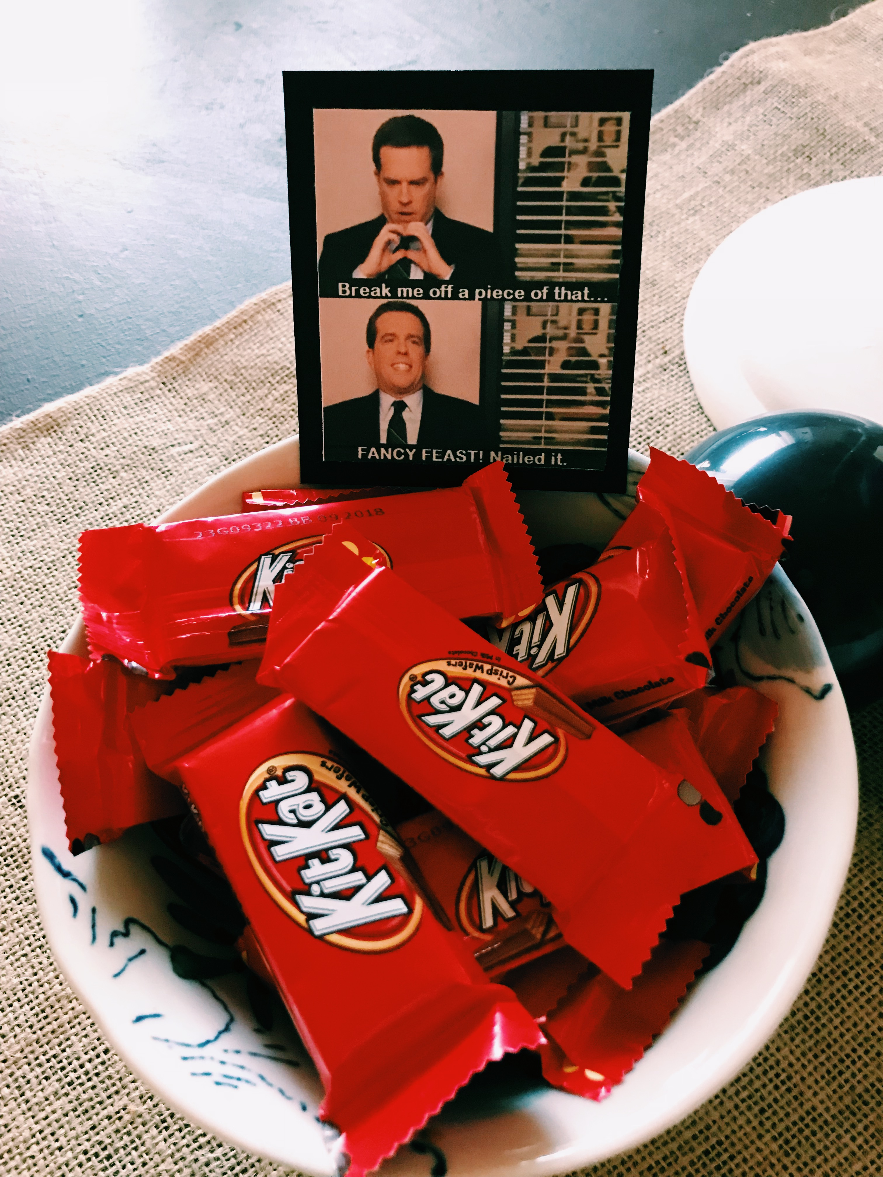 the office themed birthday the rehling unit