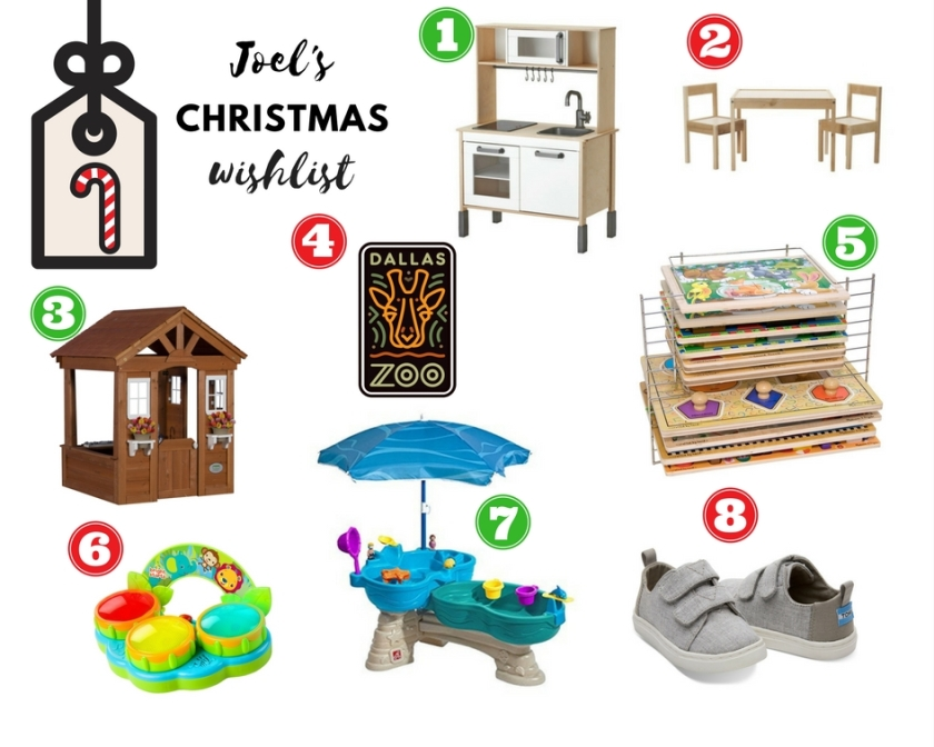 Joel's Christmas Wishlist