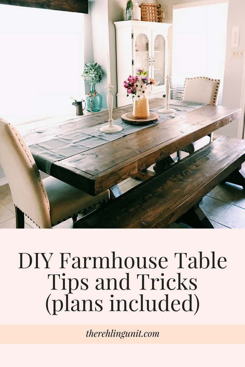 DIY Farmhouse Table Plans
